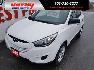 2015 Hyundai Tucson GL ALL WHEEL DRIVE, BLUETOOTH, HEATED SEATS
