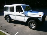 mercedes g wagon wanted g wagen g class