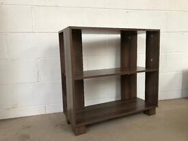 Nico 3 Shelf Bookcase Walnut Effect New