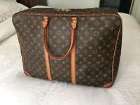 Genuine LV Louis Vuitton Sirius 50 Suitcase Travel Hand Bag, Monogram Canvas Leather, RRP £1300!!