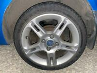 Ford fiesta mk 7 16 inch alloy wheels with tires