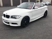 2009 BMW 1 series m-sport convertible 2.0 petrol 170bhp (only 24,000 miles)