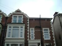 One bedroomed flat available minutes from Southsea beach.