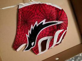 Authentic Mexican wrestling luchadore mask