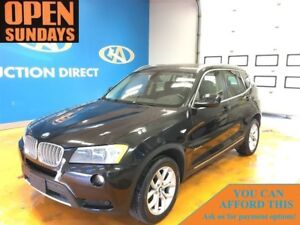 2014 BMW X3 xDrive! LOW KM'S! PANO SUNROOF! NAVI!