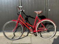 Vintage Red Bicycle - Good working order