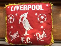 Liverpool football cushion