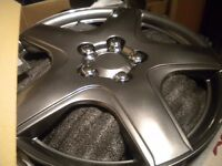 """Halfords 15"""" Wheel Trims"""