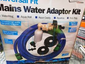 Caravan mains water adapter kit
