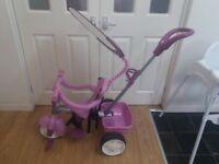 Little tykes 4 in 1 purple trike