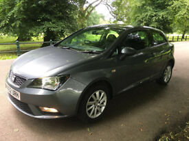 2012 SEAT IBIZA SE,1.4 PETROL,44000 MILES,12 MONTHS MOT