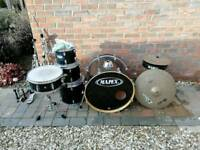 Mapex Drum Kit with Music Stand