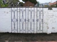 OUTSIDE DECORATIVE IRONWORK