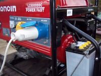 LONCIN 4.5KW 4 STROKE PETROL GENERATOR,WITH ELECTRIC START,AS NEW