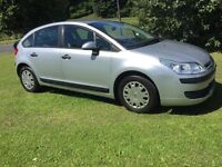 2007(56) CITREON C4 1.4 LX 5DR HATCHBACK MOT APRIL 17, S/HISTORY, DRIVES WELL TAKEN IN PX CHEAP