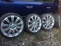 BMW 19 in alloy wheels and tyres