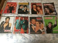 Collection/Bundle of: 8 x BRAND NEW James Bond Magazines. FREE POSTAGE To UK ADDRESSES!