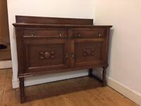 Kitchen / Dining Room Sideboard Wooden Victorian Edwardian