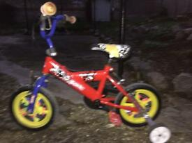 Kids Bike with back wheels
