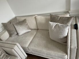 Luxury 2 x 4 seater sofa from Sofology