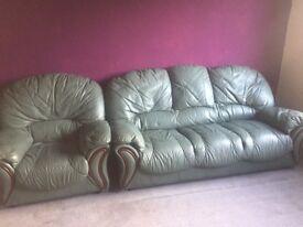 Sofa 3 seater plus 2 armchairs