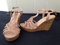 Faith wedge sandals