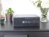 HP ProDesk PC Quad Core i5, 8GB RAM, SSD, Win10, Office