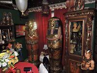 A WHOLE EGYPTIAN ROOM SALE
