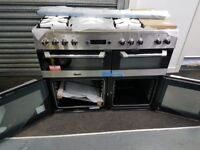 Leisure dual fuel range cooker CS110F722X - manufacturers wrty- £799.00