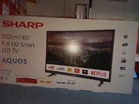 New led smart tv