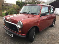 "1984 AUSTIN MINI MAYFAIR 1 LADY FROM NEW 38K F/S/H Pristine with a 4"" file of history! HPI CLEAR"