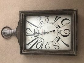 Wall clock - vintage style