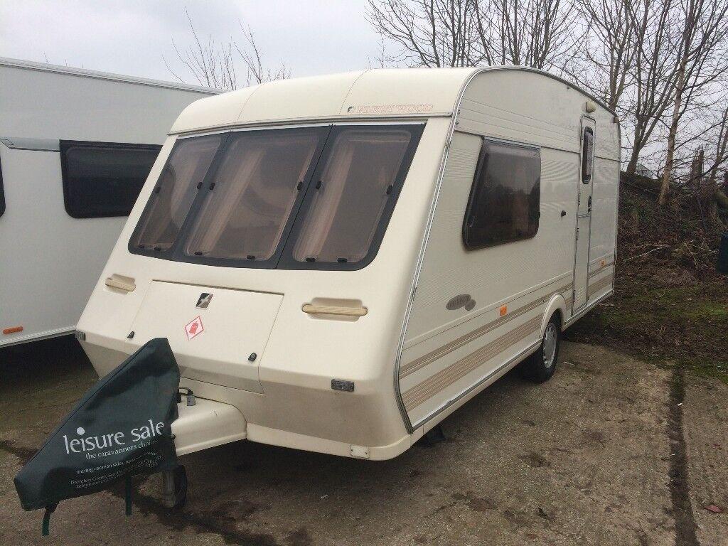 1998 Fleetwood Colchester Caravan, 2 Berth