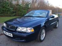 VOLVO C70 2.0 TURBO CONVERTIBLE , MOT MARCH 2019 , GENUINE MILEAGE 59980, STUNNING CAR