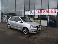 2008 08 VOLKSWAGEN POLO 1.8 GTI 5D 148 BHP **** GUARANTEED FINANCE ****