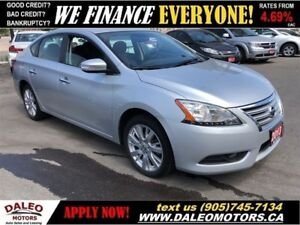 2013 Nissan Sentra 1.8 S| LEATHER| BACKUP CAM|NAV| SUNROOF