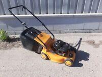 Petrol lawn mower Briggs and stratton engine lawnmower