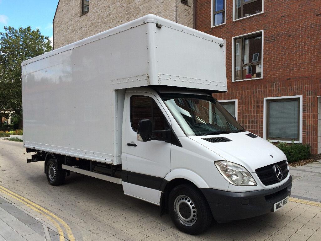 Mercedes Sprinter Luton Box Van