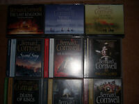 9 Bernard Cornwell The Last Kingdom Audio books