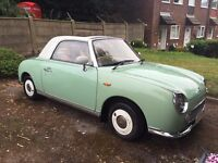 Nissan figaro 5 +months road tax. 11 months mot expires July 2017, petrol 1.o turbo engine