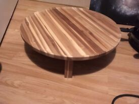 small short round table