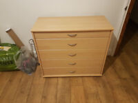Chest of drawers. Suitable for office or bedroom