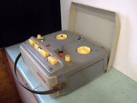 Reel to reel vintage tape recorder