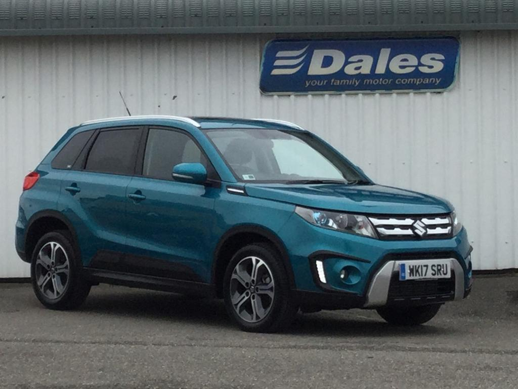 suzuki vitara 1 6 ddis sz5 allgrip rugged pack 5dr atlantis turquoise 2017 in newquay. Black Bedroom Furniture Sets. Home Design Ideas