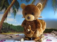 Toy Animal Rocker Brown Bear