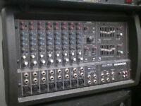 Pa mixer amp.