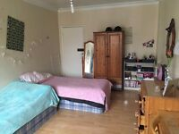 Large Bright Twin Room Share Available in Hammersmith