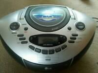 Digital radio/cd/tape player