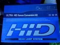 HID xenon 6k lights H7