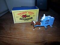 Moko Lesney Matchbox No.7 Horse and cart model